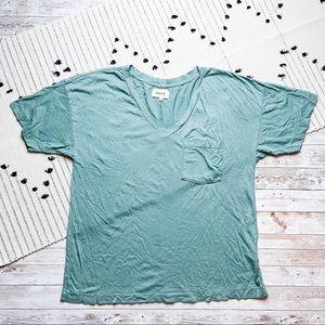 Mate Organic Tencel V-Neck Pocket T-Shirt Small
